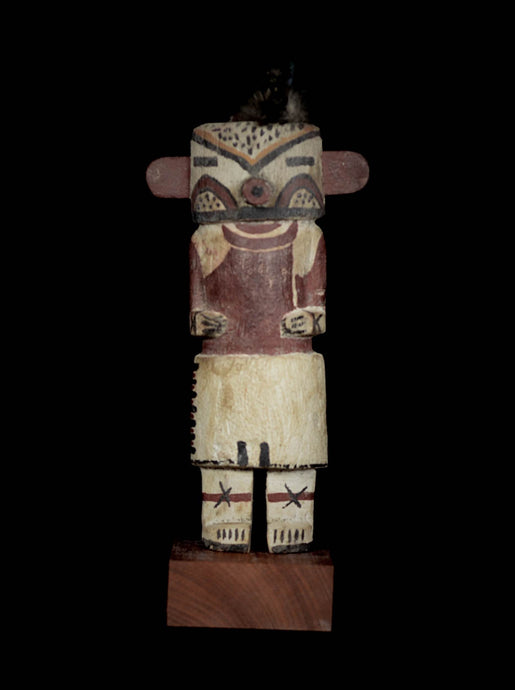 Superb KACHINA Doll in the style of the HOPI Indians - Amerindians - USA