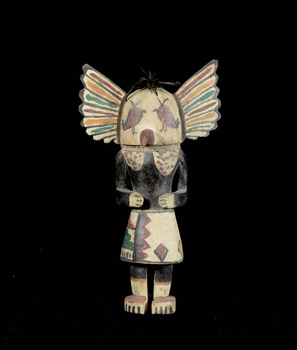 Great Kashina puppet from the Hopi Indians - Arizona - USA