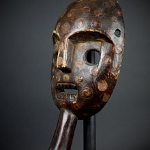 MBUTI Ituri River Mask with handle. Democratic Republic of the Congo