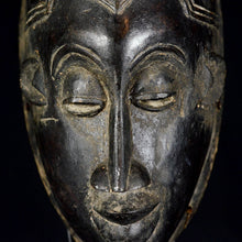 "Secret Society ""JE"" mask from the GURO with dart on top - Ivory Coast"