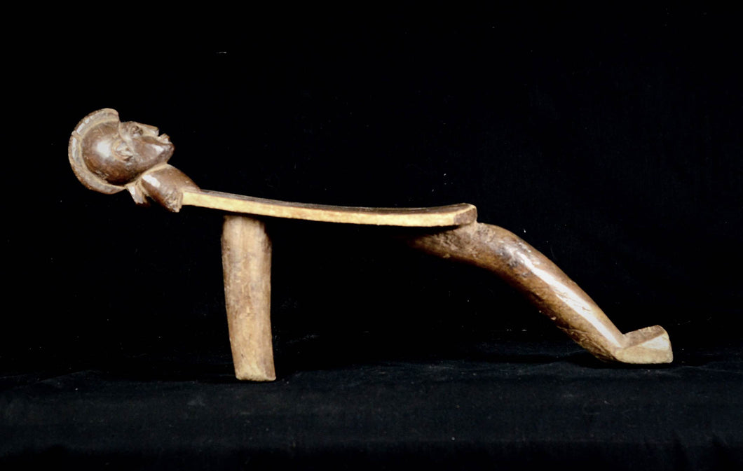 Nice Boteba Zoomorphic stool from the LOBI People - Burkina Faso