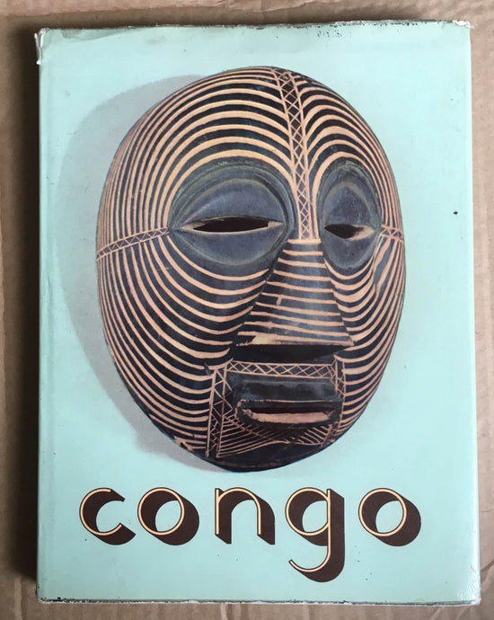 Book : Congo (French) Hardcover – 1958