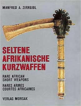 Book : Rare African short Weapons