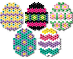 Easter Eggs Perler Bead Project Sheet