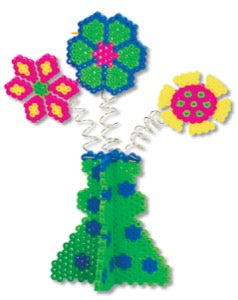 Flowers Perler Bead Project Sheet