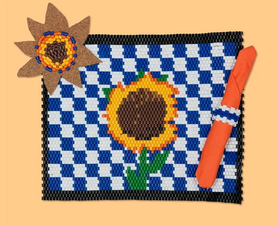 Sunflower Table Setting Project Sheet
