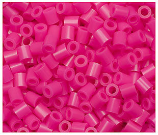 1000 Perler Magenta Color Iron On Fuse Beads  80-19038