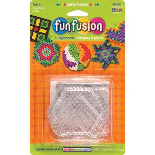 Small Clear Pegboards, 5 ct