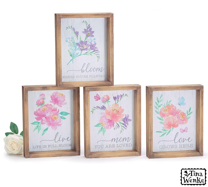 Watercolor Floral Decor