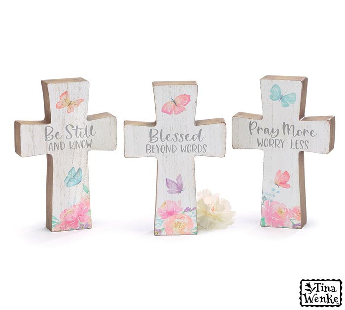 Spring Cross Decor