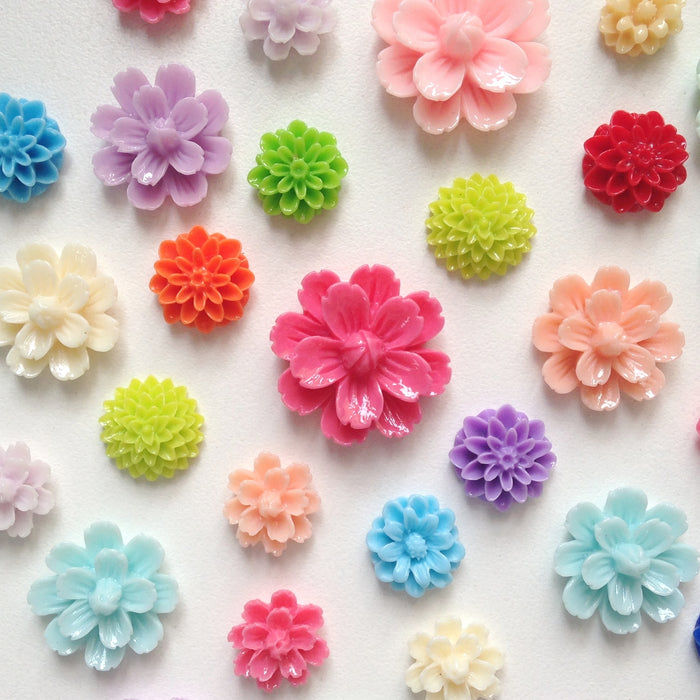 Colorful Flower Magnets