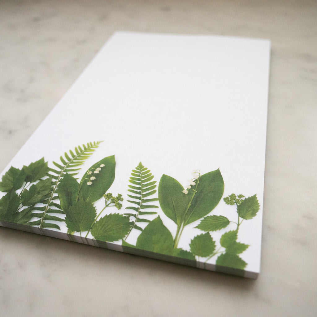 Large Floral Notepad