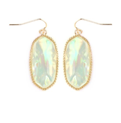Opal Mint Jada Drop Earrings