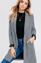 Classic Houndstooth Jacket