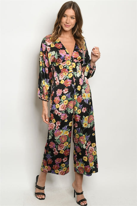 Multi Floral Jumpsuit