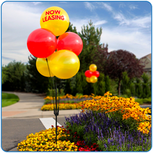 Load image into Gallery viewer, Cluster Pole Kit (5 Balloon) - Big Shot Promotions