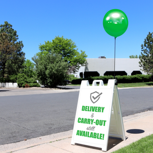 Balloon-A-Sign Kit - (Customizable) - Big Shot Promotions