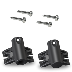 Upper/Lower Pole Brackets Kit - Standard w/Screws - Big Shot Promotions