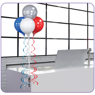 Everbrite 4-Balloon Bouquet Bracket Kit - Big Shot Promotions