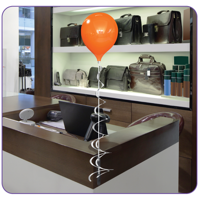 Everbrite 1-Balloon Bouquet Bracket Kit - Big Shot Promotions