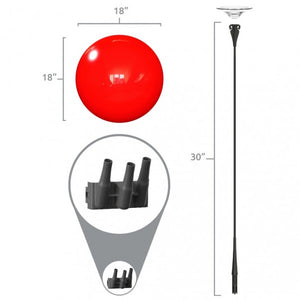 "A-Frame & (3) 18"" Balloon Kit - Big Shot Promotions"