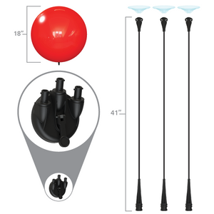 Suction Cup Kit (Triple) - Big Shot Promotions