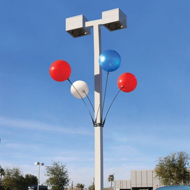 4 Balloon Light Pole Kit