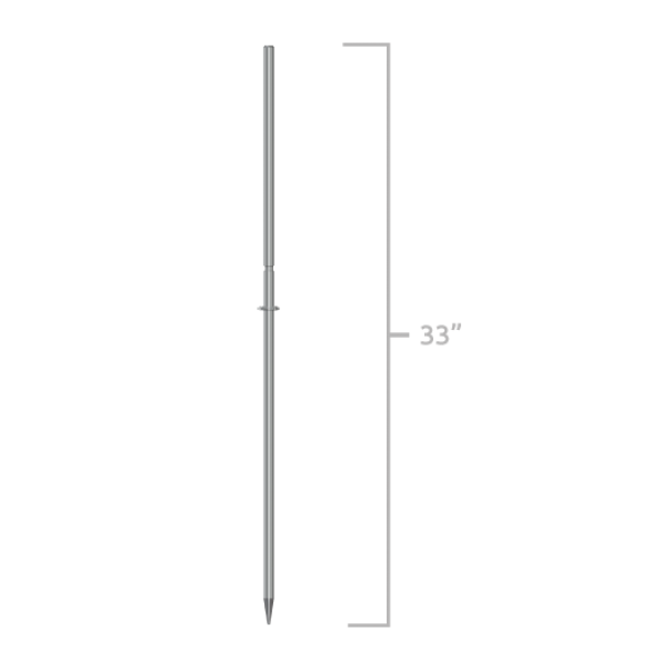 Metal Ground Stake - 33 Inch - Big Shot Promotions