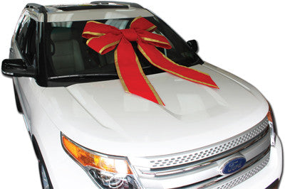 36 Inch Velvet Windshield Car Bow - Big Shot Promotions