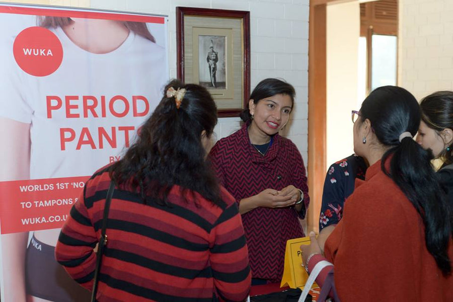 "We Bleed. Period. ""Let's not be afraid of who we are"" – a story of periods in Nepal."