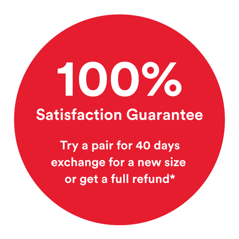 100% satisfaction guarantee on your first wuka wear