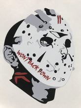 """Won't Back Down"" Decal"