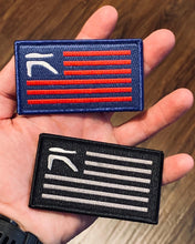 Red, White, and Blue Team Ronin Flag Patch