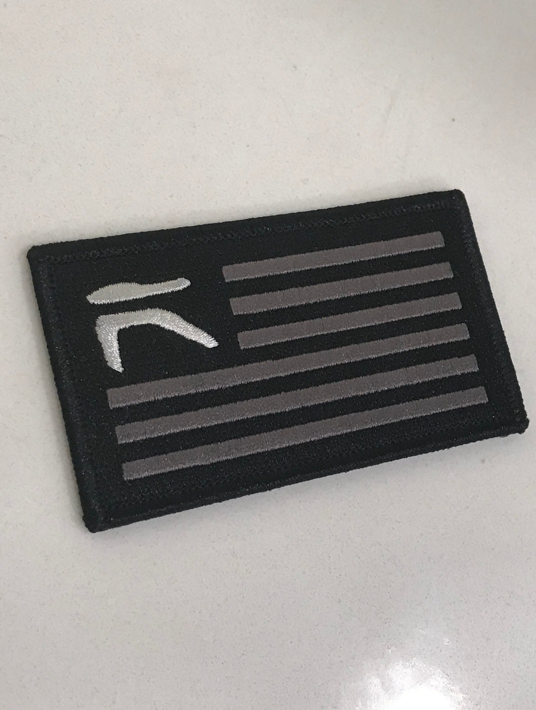Grey and Black Team Ronin Flag Patch