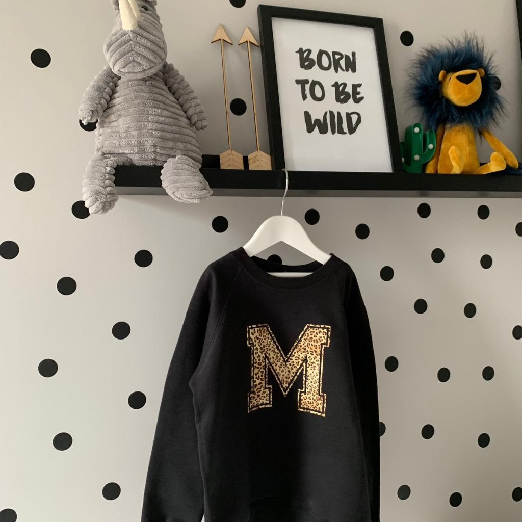 Whistling Dixie Kids Sweatshirt - Animal Initial by Whistling Dixie