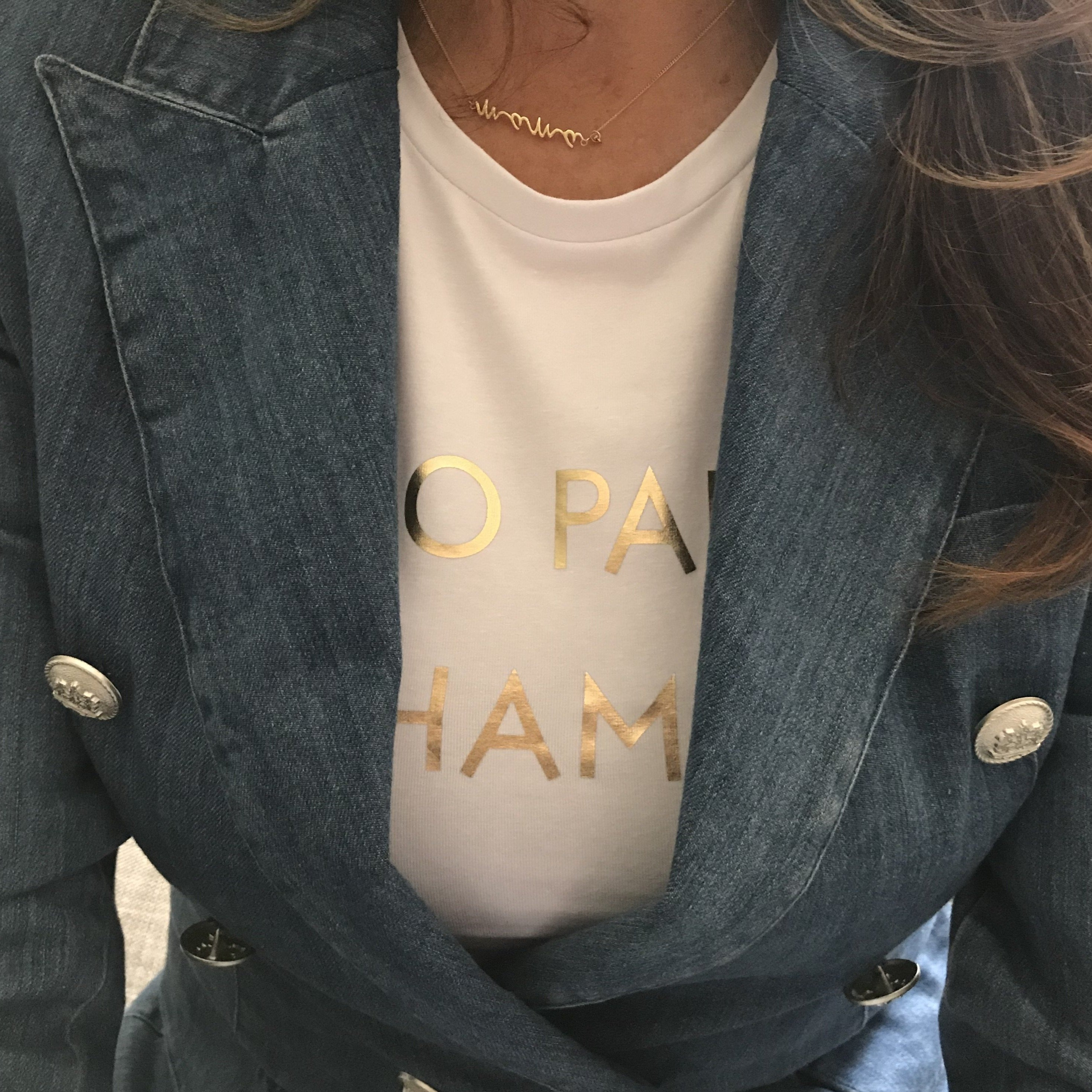 No Pain No Champagne - tee by Whistling Dixie