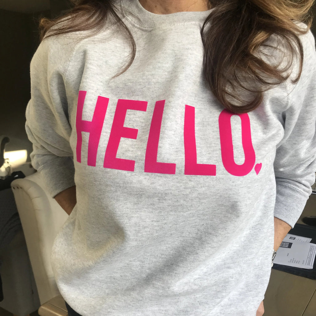 WHISTLING DIXIE SWEATSHIRT - HELLO