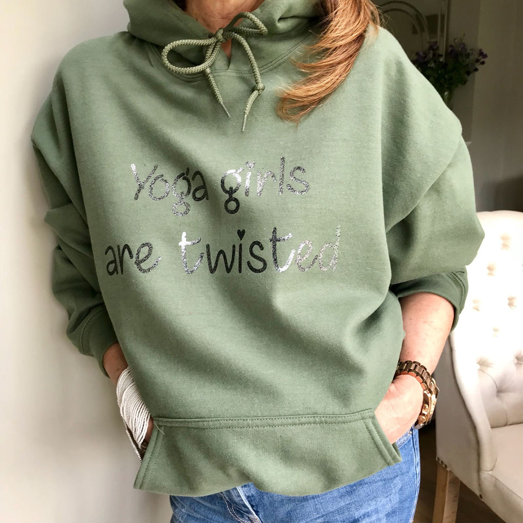 Whistling Dixie Hoodie - Yoga Girls Are Twisted