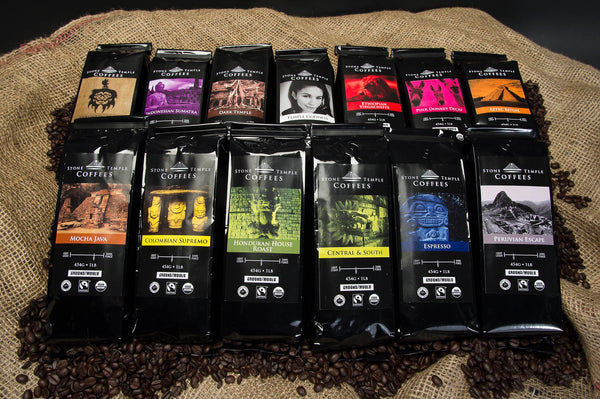 Stone Temple Coffees Collection