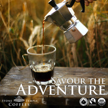 Stone Temple Coffees Coffee Ad