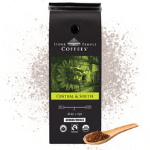 Stone Temple Coffees - Central and South, Ground, Medium Roast, Coffee 1lb/454g