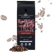 Stone Temple Coffees - Dark Temple, Whole Bean, Dark Roast, Coffee 1lb/ 454g