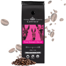 Stone Temple Coffees - Pink Donkey Decaf, Whole Bean, Medium Roast, Coffee 1lb/454g