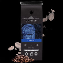 Espresso - Medium Roast, Certified Organic/ Fairtrade Coffee 1lb/454g