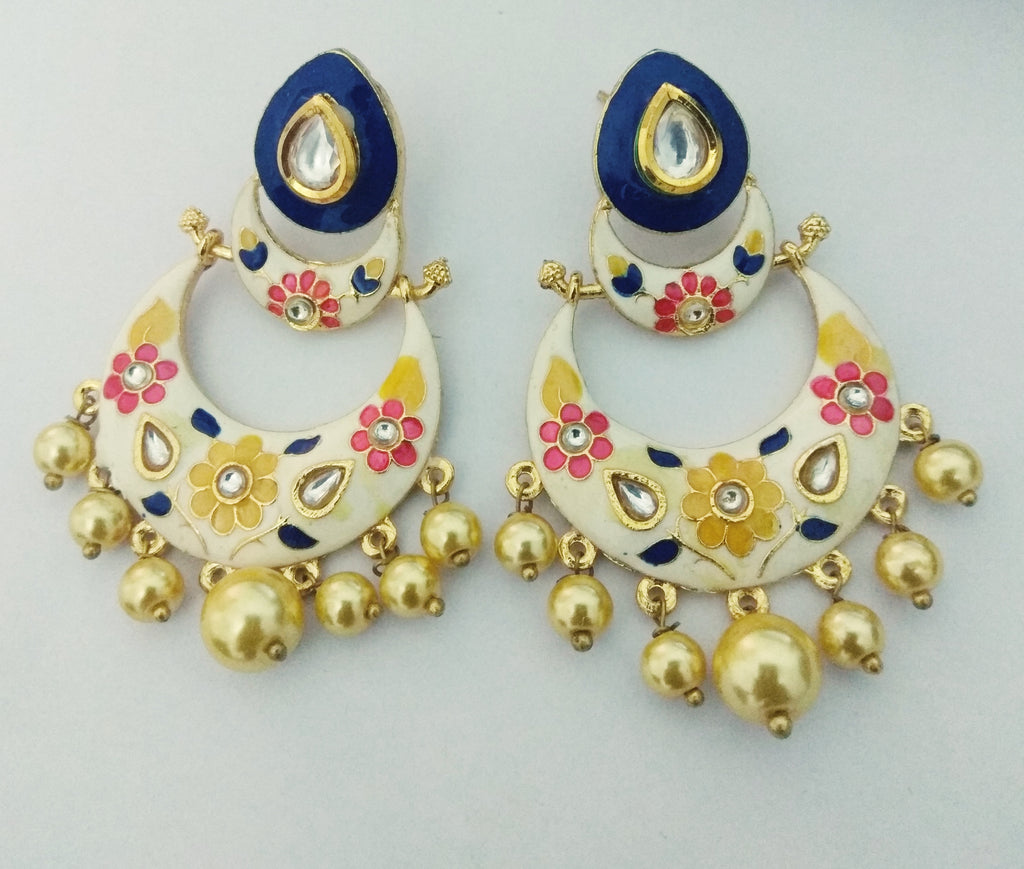 Wallah Meenakari Earrings