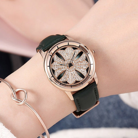 Diamond Butterfly Designer Wrist Watch