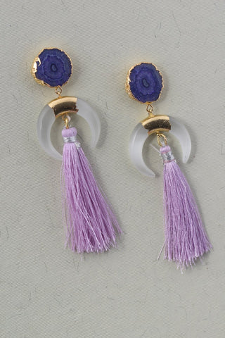 Sarapia Luxe Tassel Earrings