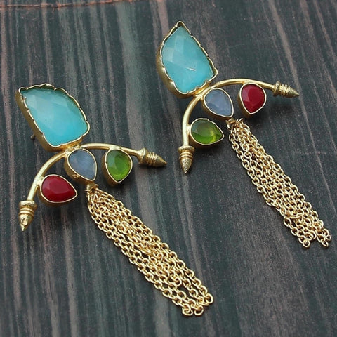 Rita Raw Stone Earrings