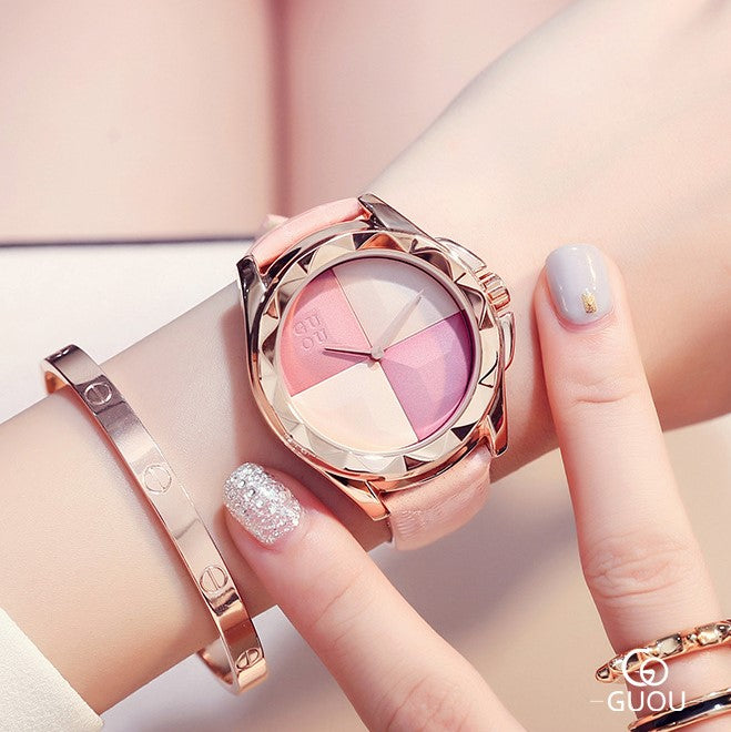 Cute Baby Pink Wrist Watch