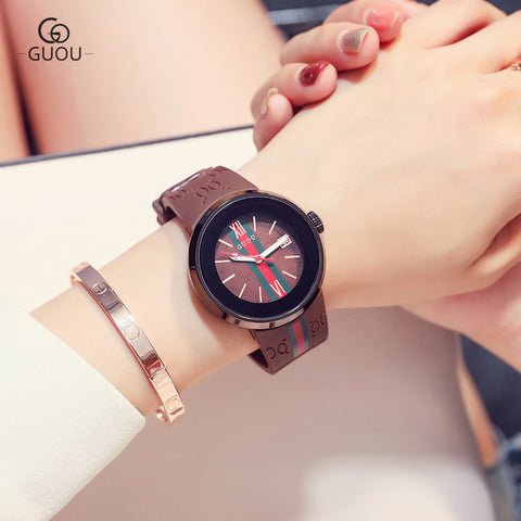 Brown Class Women's Wrist Watch